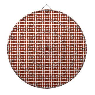 polka dots dartboard