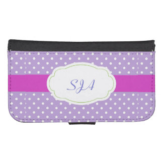 Polka Dots Design Phone Wallet