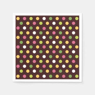 Polka Dots Disposable Napkin