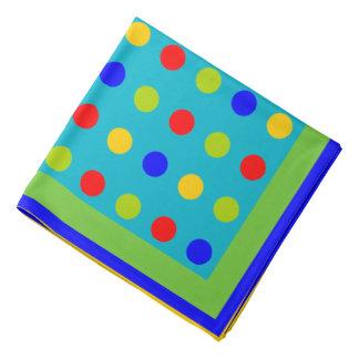 polka dots,edit background color bandana