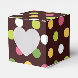 Polka Dots Favor Boxes