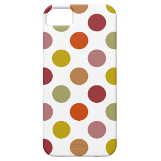 Polka Dots Harvest Mix iPhone 5 Case