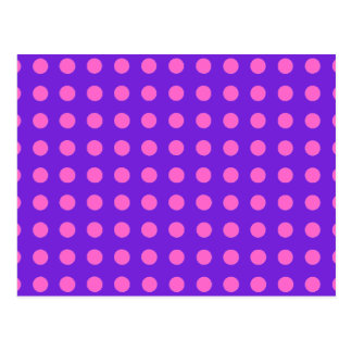 Polka Dots in Any Color You Choose on Purple Cards