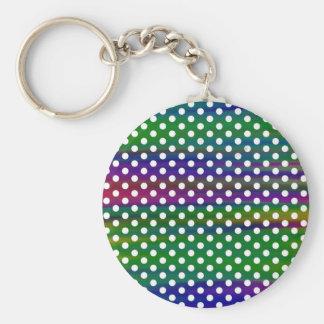 polka-dots keychain