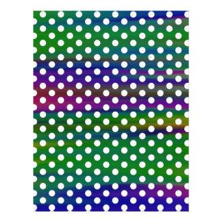 polka-dots letterhead