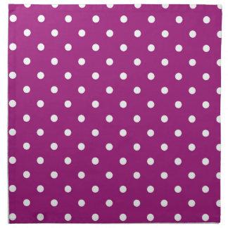 polka-dots napkin