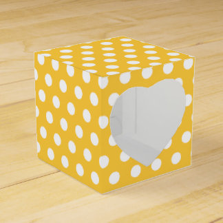 Polka Dots Party Favor Boxes