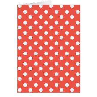Polka Dots Pattern Gifts Card