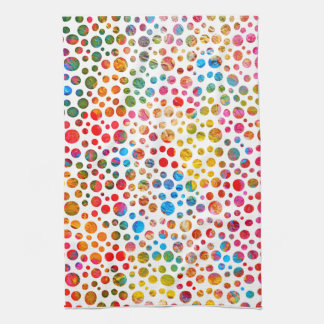 Polka Dots Pattern Hand Towel