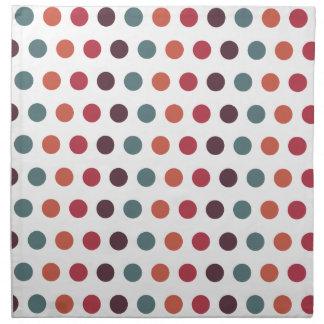 Polka Dots Pattern Napkins