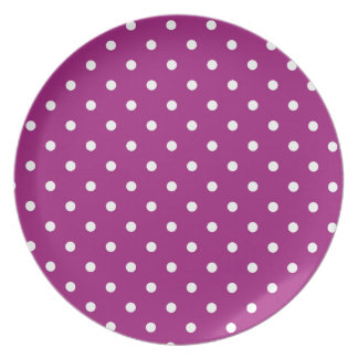 polka-dots plate