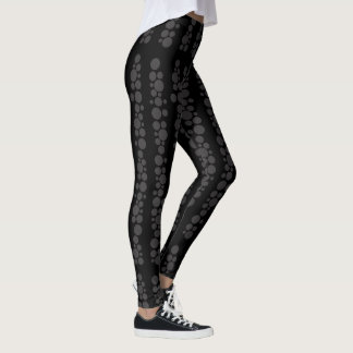 Polka dots printed legging