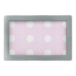 polka dots rectangular belt buckles