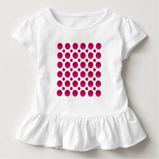 polka dots red element toddler t-shirt