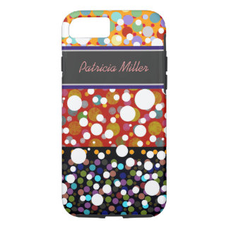 polka-dots seamless pattern personalized iPhone 7 case