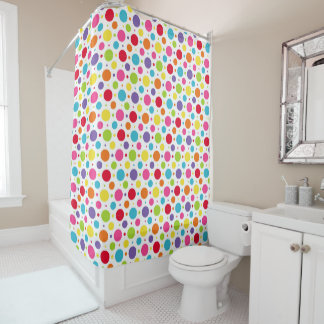 Polka Dots Shower Curtain