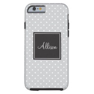 Polka Dots Tough iPhone 6 Case