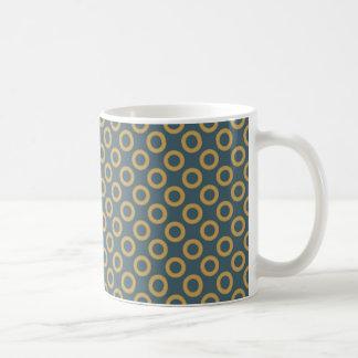 Polka Dots White 11 oz Classic Mug