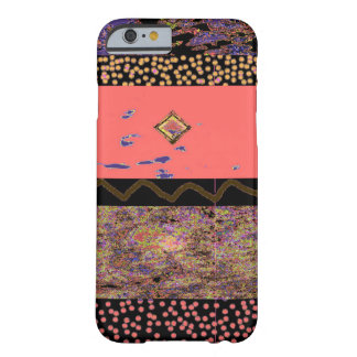 Polka Dots Zig Zag Barely There iPhone 6 Case
