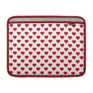 Polka Hearts MacBook Air Sleeves