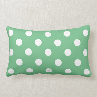 polka lumbar pillow