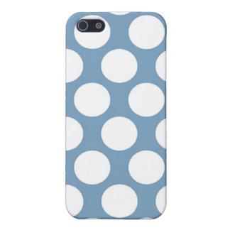 Polkadot bleu-clair iPhone 5 case
