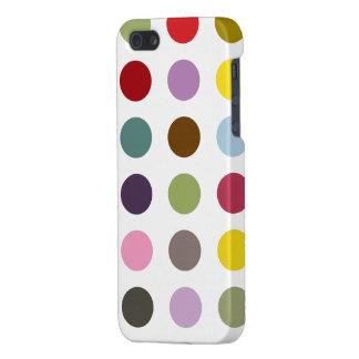 Polkadot de bubble-gum coques iPhone 5