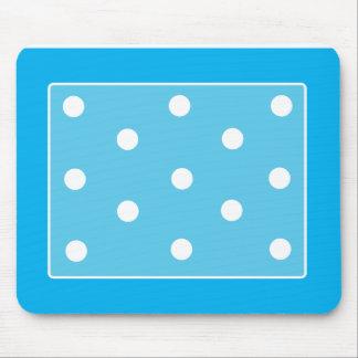 Polkadot Mousepad Sky Blue