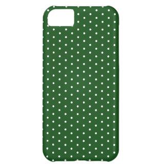 Polkadot vert coque iPhone 5C