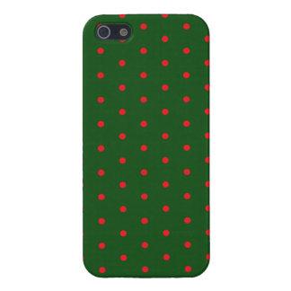 Polkadot vert iPhone 5 case