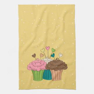 Polkadots and Cupcakes Kitchen Towel