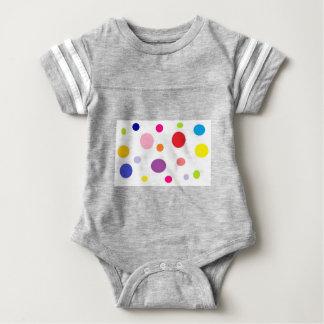 polkadots baby bodysuit