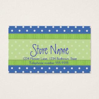 Polkadots business card