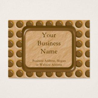 Polkadots - Chocolate Peanut Butter Business Card