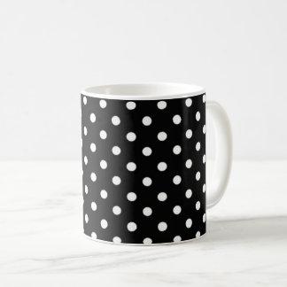 polkadots circle black dots mug splash color