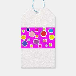 polkadots gift tags