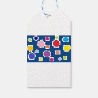polkadots pack of gift tags