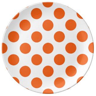 Polkadots Porcelain Plates