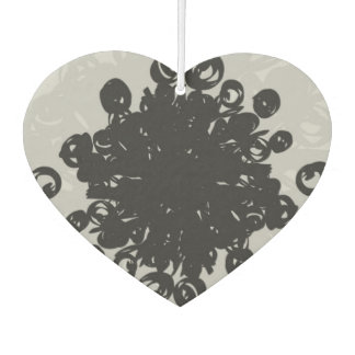 Pollen Heart Car Air Freshener