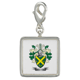 Pollock Family Crest Coat of Arms Photo Charm