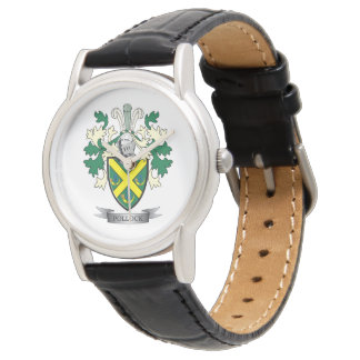 Pollock Family Crest Coat of Arms Watch