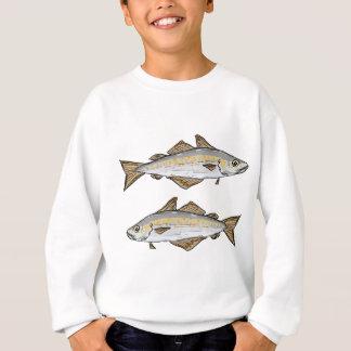 Pollock Fish Sketch Sweatshirt