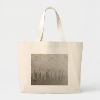 Pollution Large Tote Bag