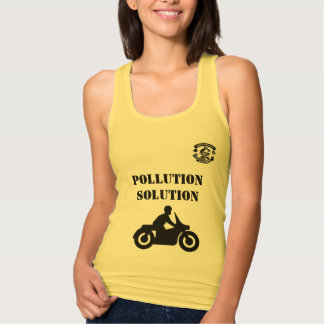 Pollution Solution T Shirt Ladies