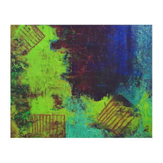 Pollution Wall Art Wood Canvases