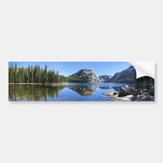 Polly Dome over Tenaya Lake - Yosemite Bumper Sticker