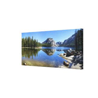 Polly Dome over Tenaya Lake - Yosemite Canvas Print