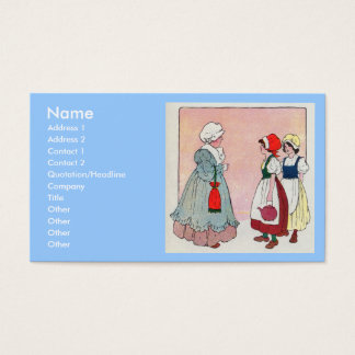Polly, put the kettle on, Polly, put the kettle on Business Card