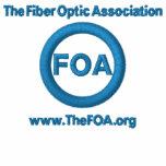 Polo brodé par logo de la FOA