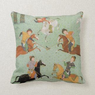 Polo / Chogan Throw Pillow